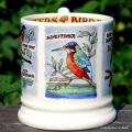 Emma Bridgewater. ½ pint Kingfisher & Insect Eaters