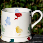 Emma Bridgewater baby mug chicken