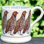 Emma Bridgewater sale. half pint mug partridge