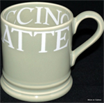 Emma Bridgewater ½ pint mug pale green toast