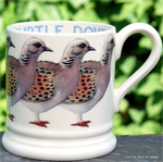 Emma Bridgewater sale. turtle dove half pint mug