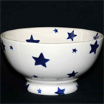 Starry Skies, Blue Star french bowl