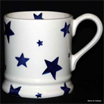Emma Bridgewater ½ pint mug starry skies