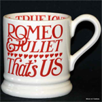 emma bridgewater ½ pint mugs / servies, valentine's day