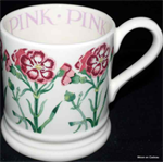 emma bridgewater ½ pint mugs pink