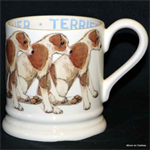 emma bridgewater sale. ½ pint mug terrier