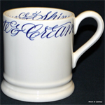 emma bridgewater ½ pint mug copperplate