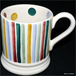 emma bridgewater ½ pint mugs polka stripes