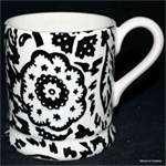 Emma Bridgewater ½ pint mug Black Wallpaper
