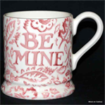emma bridgewater ½ pint mug pink Wallpaper