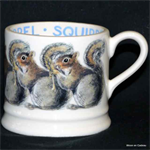 emma bridgewater grey squirrel baby mug