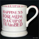 emma bridgewater ½ pint mug happiness mum