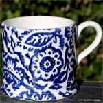 Emma Bridgewater Blue Wallpaper Baby Mug