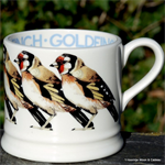 emma bridgewater baby mug goldfinch