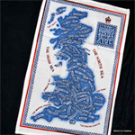 Emma Bridgewater. Tea towel Great Britain