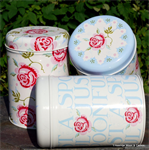 emma bridgewater sale. tin set / 3 caddy's