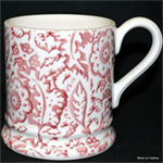 emma bridgewater servies ½ pint mug pink wallpaper