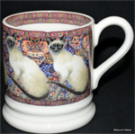 emma bridgewater Siamese Cat ½ pint mug