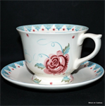 Emma Bridgewater. sale Rose & Bee Large Teacup & Saucer