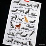 emma bridgewater. Tea Towel Labradors Narrative
