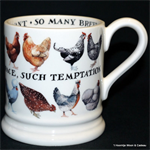 emma bridgewater, running chicken