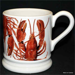 Emma Bridgewater ½ pint mug Lobster