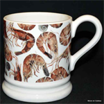Emma Bridgewater sale. prawns ½ pint mug