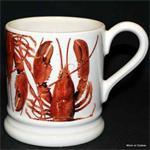 Emma Bridgewater Lobster ½ pint mug