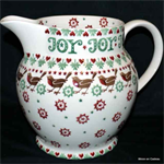 Emma Bridgewater christmas joy robin 6 pint jug