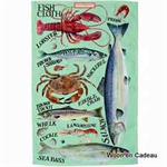 Emma Bridgewater Tea towel Fish 2016