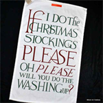 Emma Bridgewater. Tea Towel Christmas Toast