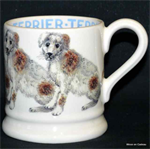 Emma Bridgwater ½ pint mug terrier