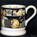 Emma Bridgewater sale. black dresser ½ pint mug