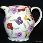 Emma Bridgewater. 1½ pint jug wallflower