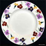 Emma Bridgewater. 10½ plate wallflower