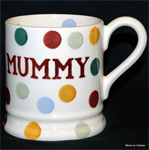Emma Bridgewater. polka dot mummy ½ pint