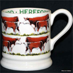 Emma Bridgewater. ½ pint mug Hereford