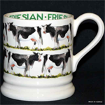 Emma Bridgewater sale. ½ pint mug friesian