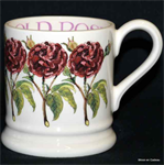 Emma Bridgewater old rose ½ pint mug