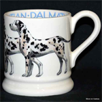 Emma Bridgewater sale. ½ pint mug Dalmation