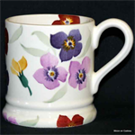 Emma Bridgewater. Wallflower ½ pint mug