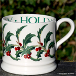 Emma Bridgewater baby mug holly