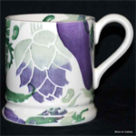 Emma Bridgewater Purple Veg ½ pint mug