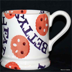 Emma Bridgewater sale. fat racal ½ pint mug