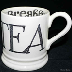 Emma Bridgewater ½ pint mug Hatch Black Toast