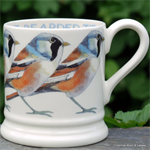 Emma Bridgewater half pint mug Bearded Tit