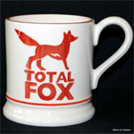 Emma Bridgewater. ½ Pint Mug Total Fox