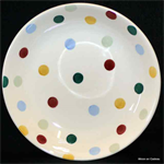 Emma Bridgewater. Small Pasta Bowl Polka Dot