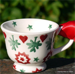 Emma Bridgewater tiny tea cup joy star