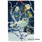 Emma Bridgewater Tea Towel Owls at Night